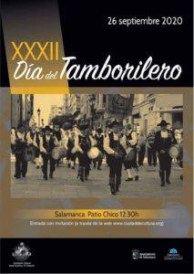 Patio Chico XXXII Día del Tamborilero Salamanca Septiembre 2020