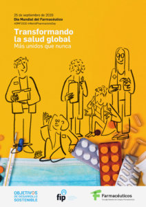Puerta de Zamora Día Mundial del Farmacéutico Salamanca Septiembre 2020