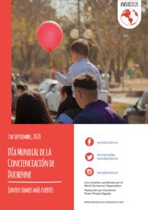Salamanca Día Mundial de la Concienciación de Duchenne Salamanca Septiembre 2020