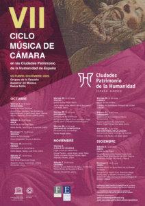 San Esteban VII Ciclo de Música de Cámara en las Ciudades Patrimonio de la Humanidad de España Salamanca Octubre 2020