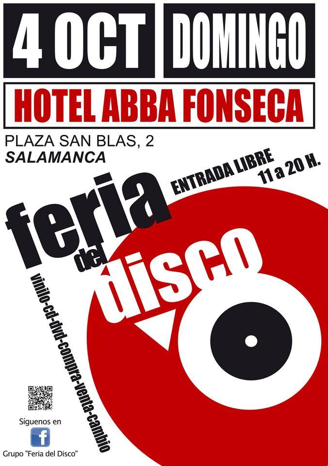 Abba Fonseca Feria del Disco Salamanca Octubre 2020