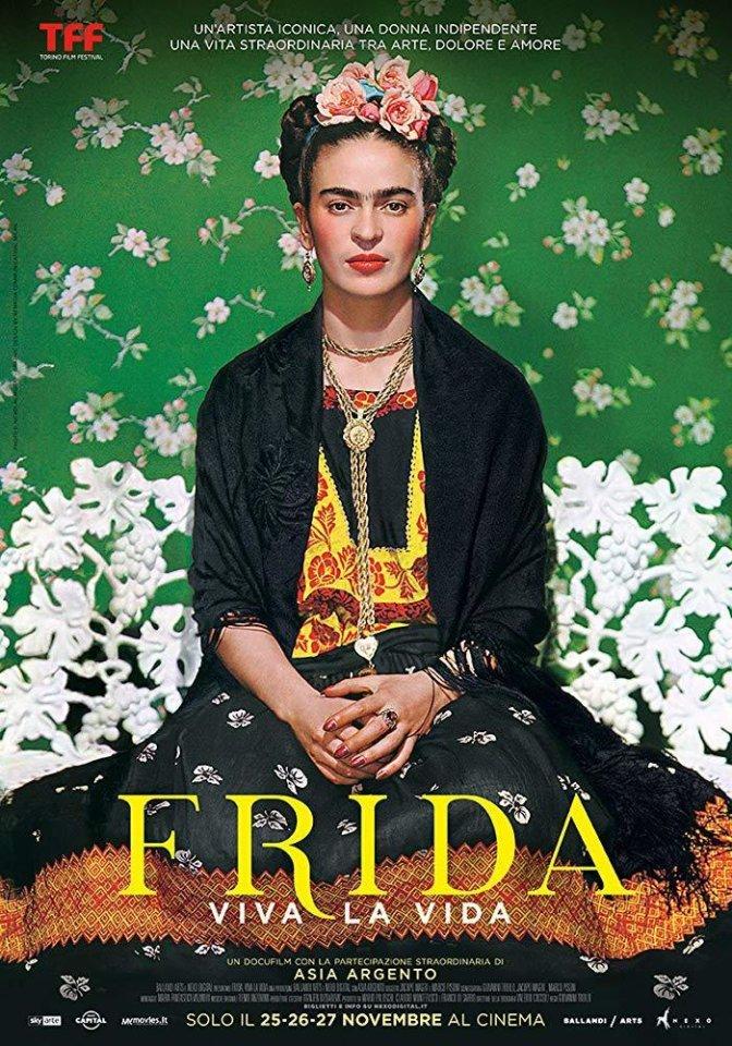 Cines Van Dyck Frida. Viva la vida Documentales de Arte Salamanca Octubre 2020