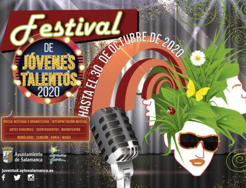 El Ayuntamiento de Salamanca convoca el Festival Jóvenes Talentos 2020