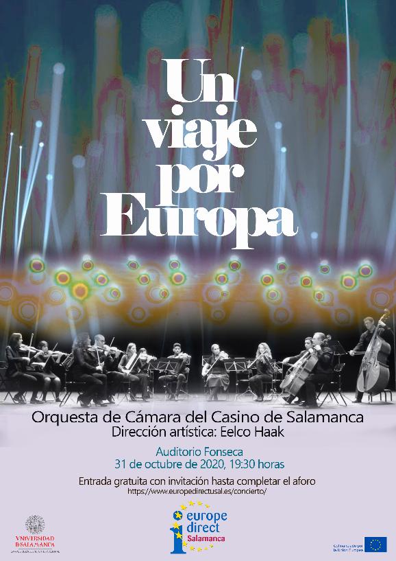 Hospedería Fonseca Un viaje por Europa Centro de Información Europe Direct Salamanca y resto del mundo Octubre 2020