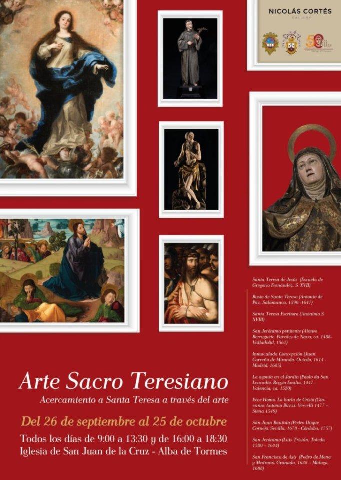 Iglesia de San Juan Arte Sacro Teresiano Alba de Tormes Septiembre octubre 2020