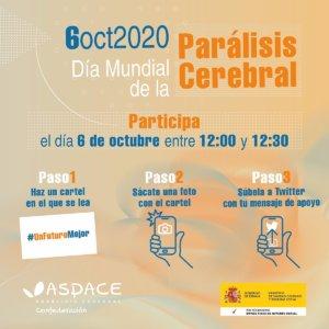 Puerta de Zamora Día Mundial de la Parálisis Cerebral Salamanca Octubre 2020