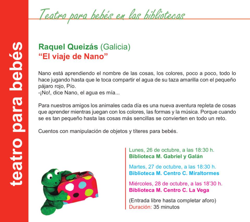 Salamanca Raquel Queizás Octubre 2020