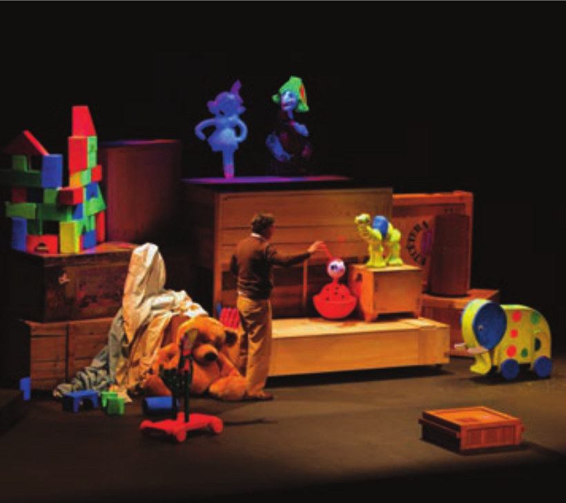 Teatro Liceo La caja de los juguetes Salamanca Octubre 2020