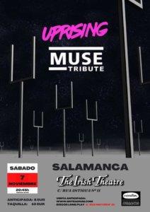 The Irish Theatre Uprising Muse Tribute Salamanca Noviembre 2020