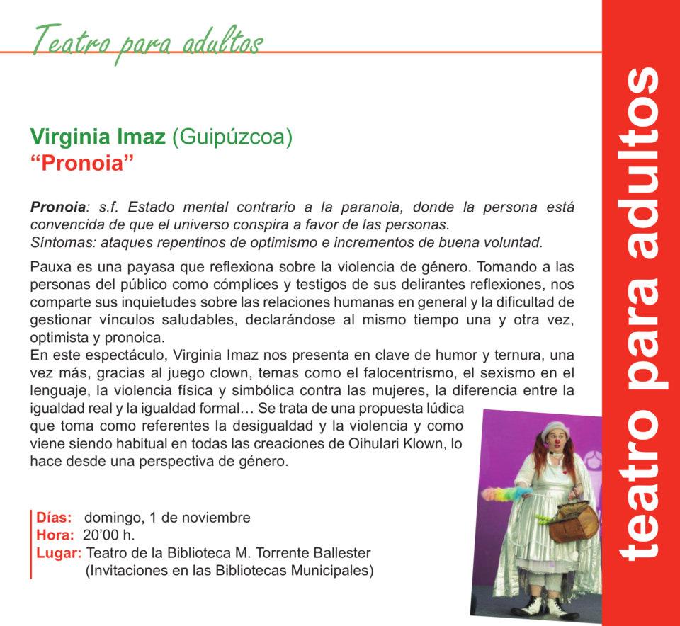 Torrente Ballester Virginia Imaz Salamanca Noviembre 2020