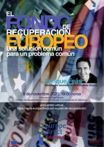 Centro de Información Europe Direct Enrique Feás Salamanca y resto del mundo Noviembre 2020