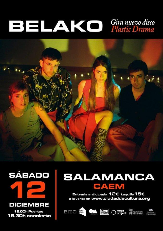 Centro de las Artes Escénicas y de la Música CAEM Belako Salamanca Diciembre 2020
