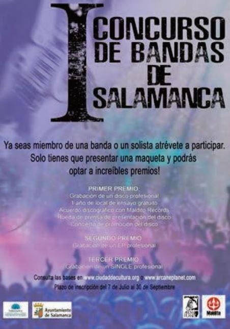 Centro de las Artes Escénicas y de la Música CAEM I Concurso Municipal de Bandas y Solistas Salamanca Noviembre 2020