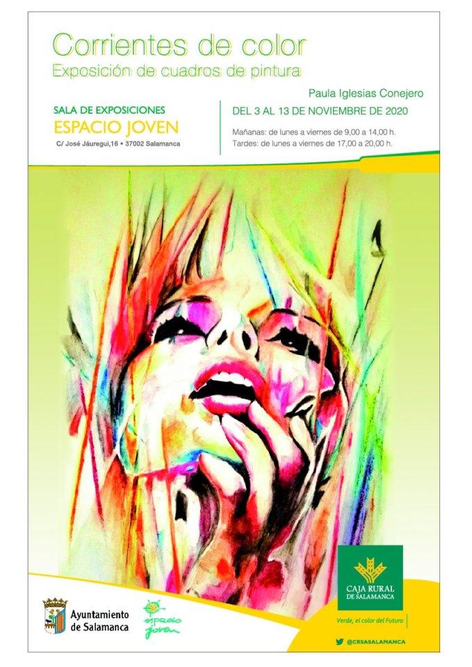 Espacio Joven Corrientes de color Salamanca Noviembre 2020