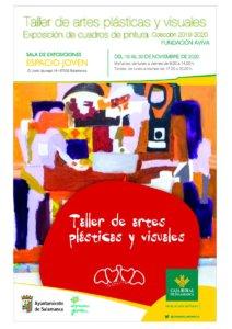 Espacio Joven Taller de Artes Plásticas y Visuales de la Fundación AVIVA Salamanca Noviembre 2020