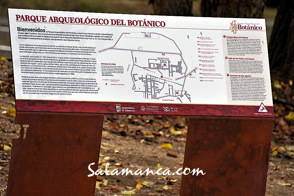Parque Arqueológico del Botánico Visitas Guiadas Salamanca