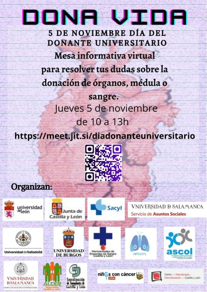 Salamanca Día del Donante Universitario Noviembre 2020