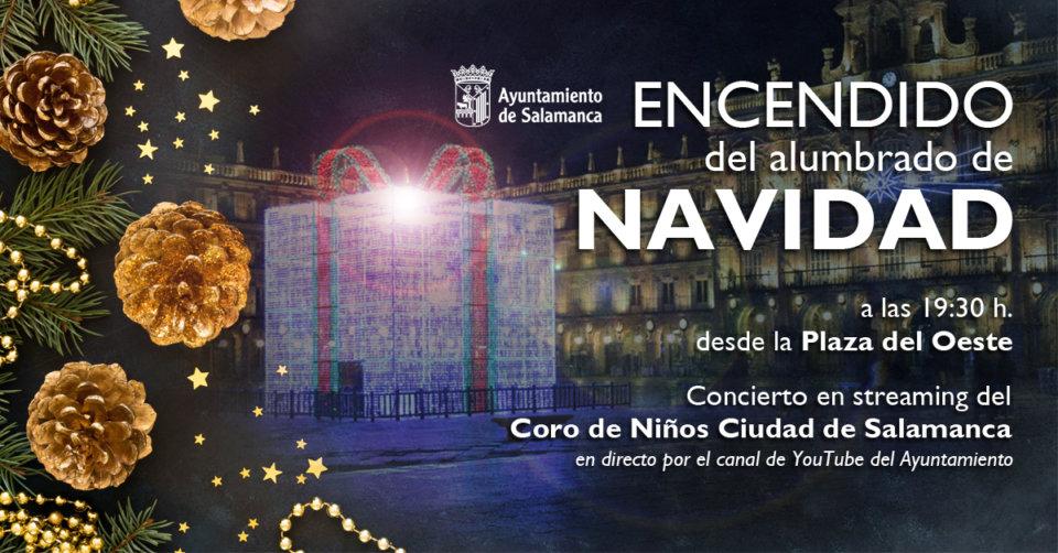 Salamanca Encendido de Navidad Noviembre 2020