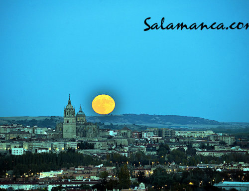 Segunda Luna Llena de octubre de 2020 en Salamanca