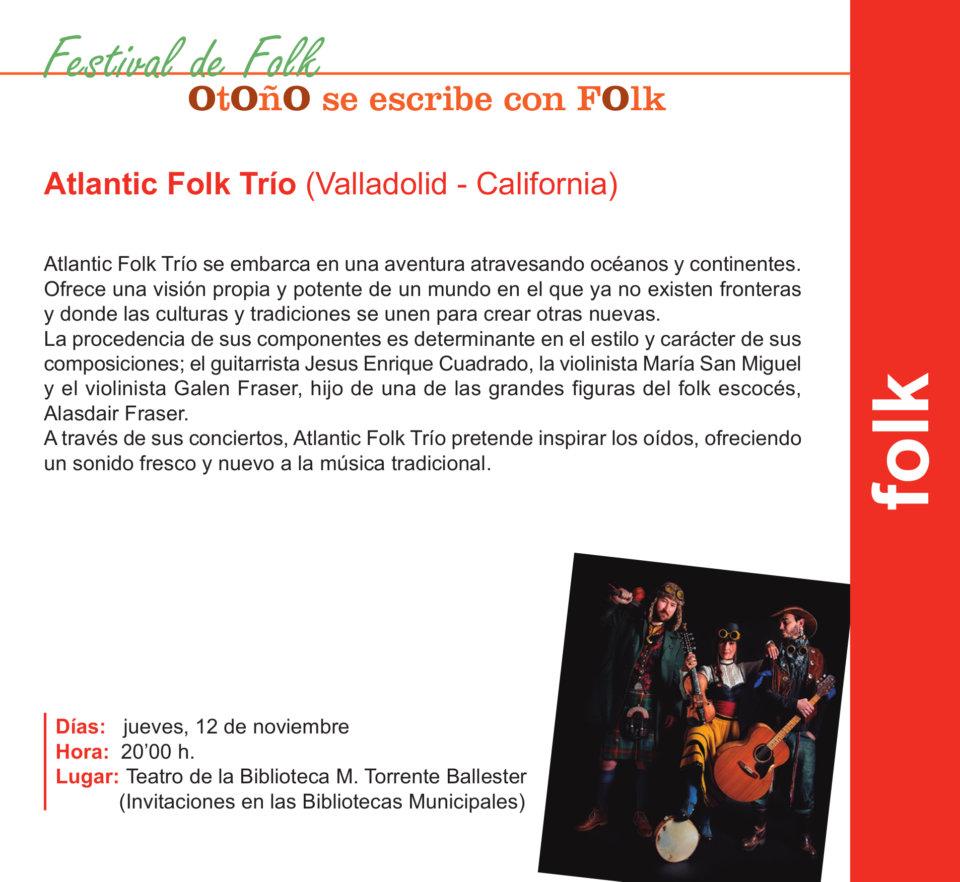 Torrente Ballester Atlantic Fok Trío Salamanca Noviembre 2020