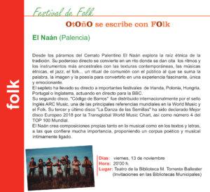 Torrente Ballester El Naán Salamanca Noviembre 2020