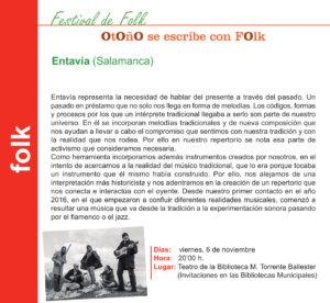 Torrente Ballester Entavía Salamanca Noviembre 2020