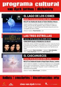 Cines Van Dyck Tormes Programación Cutural Diciembre Santa Marta de Tormes 2020