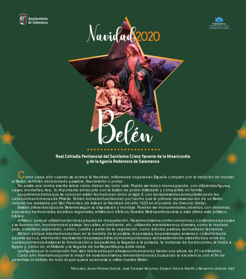 San Blas Belén Navideño Tradicional Salamanca 2020 - 2021