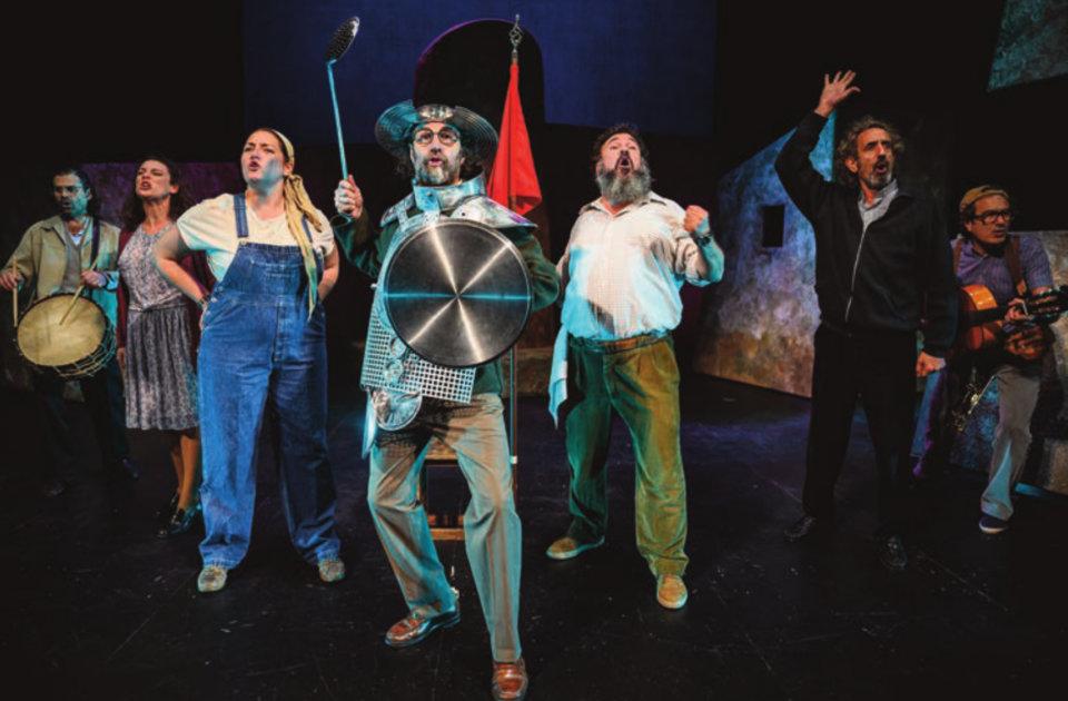 Teatro Liceo Don Quijote somos todos Salamanca Enero 2021