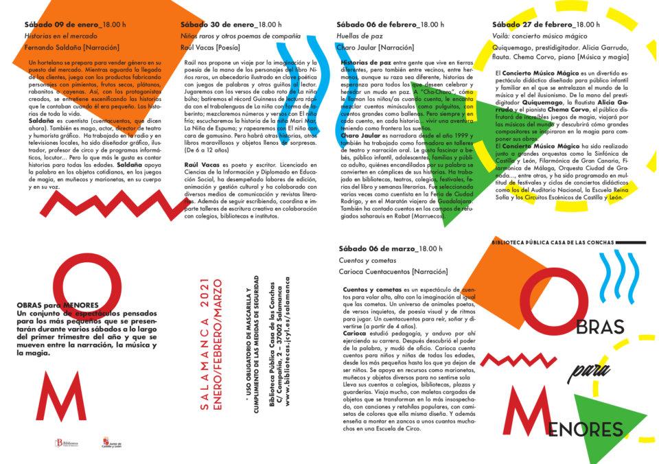 Casa de las Conchas Obras menores 2021 Salamanca