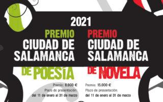 Premios Ciudad de Salamanca de Poesía y de Novela 2021