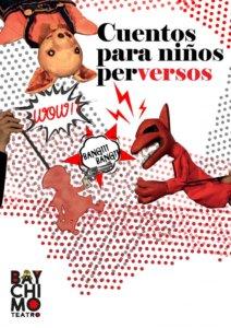 Espacio Almargen Cuentos para niños perversos Salamanca Enero 2021