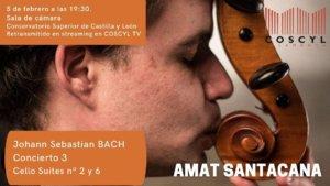 Conservatorio Superior de Música de Castilla y León COSCYL Amat Santacana Salamanca y resto del mundo Febrero 2021