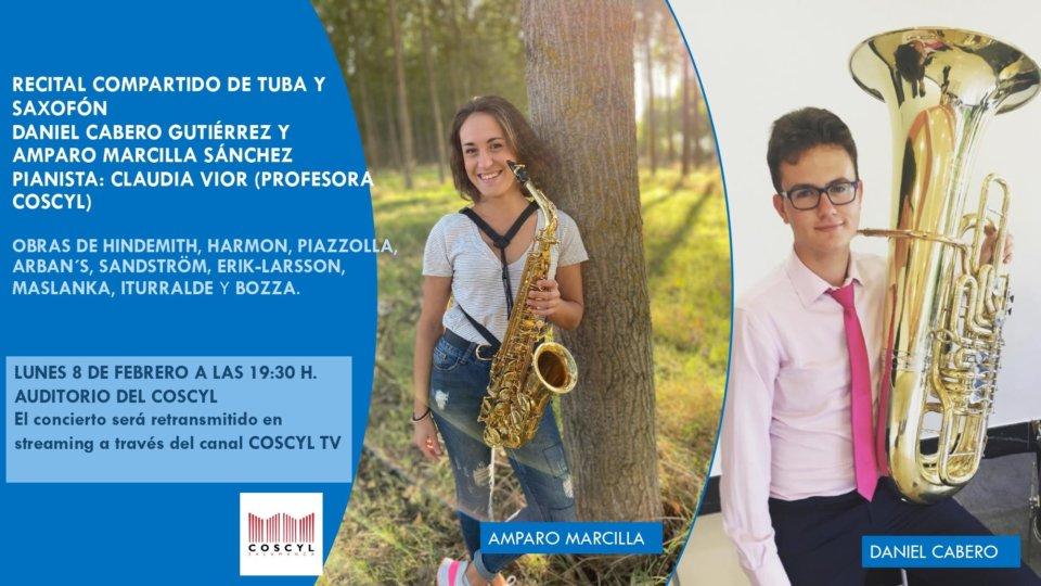 Conservatorio Superior de Música de Castilla y León COSCYL Daniel Cabero y Amparo Marcilla Salamanca y resto del mundo Febrero 2021