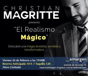 Espacio Almargen El realismo mágico Salamanca Febrero 2021