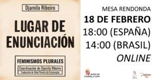 Fundación Cultural Hispano-Brasileña Lugar de enunciación Salamanca y resto del mundo Febrero 2021