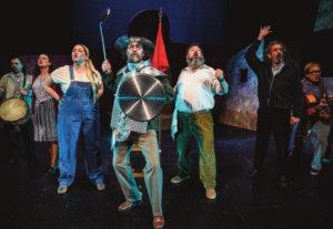 Teatro Liceo Don Quijote somos todos Salamanca Marzo 2021