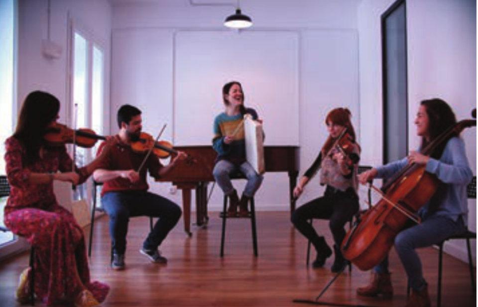 Centro de las Artes Escénicas y de la Música CAEM Concuerda Quinteto Salamanca Abril 2021
