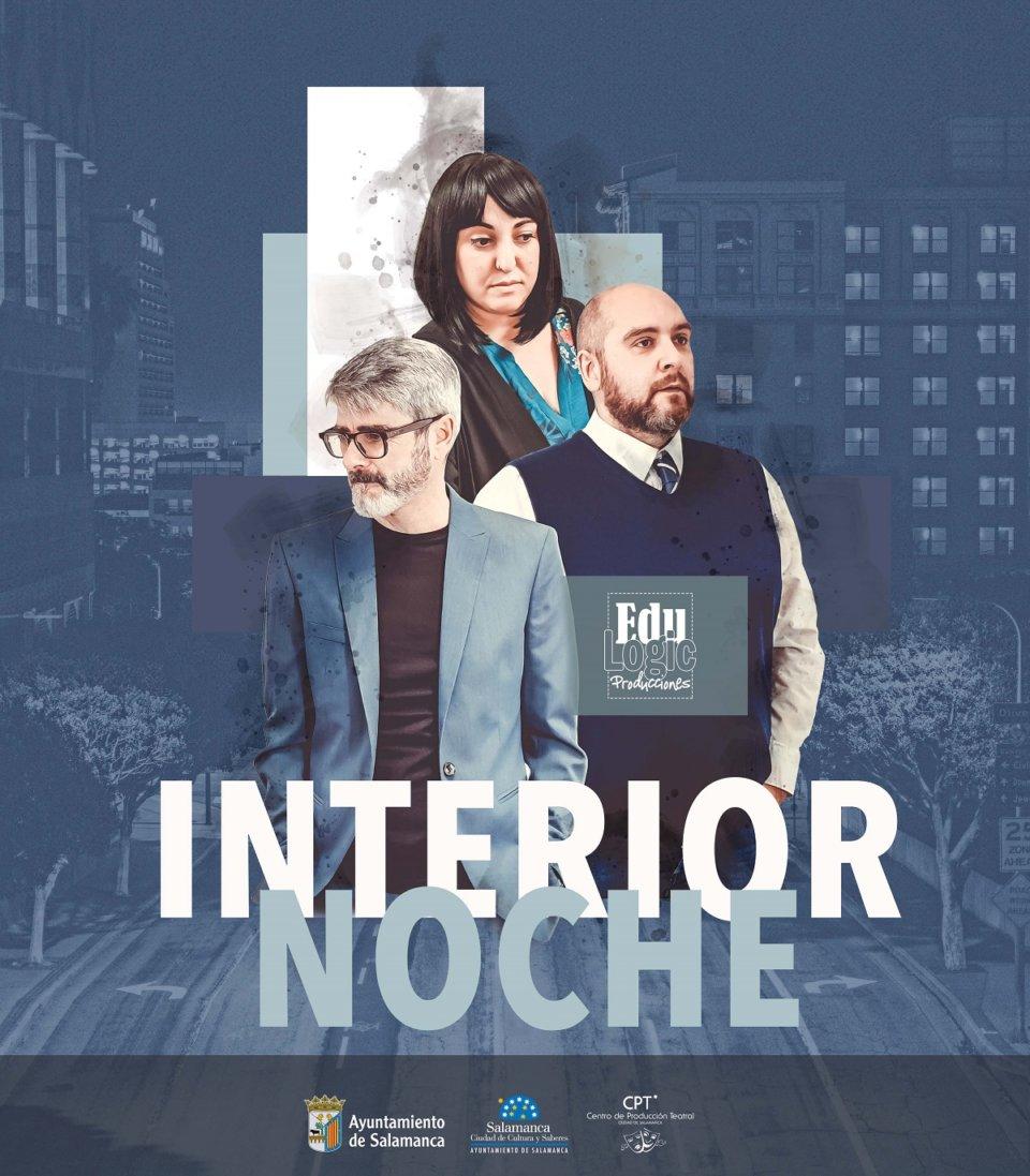 Centro de las Artes Escénicas y de la Música CAEM Interior noche Salamanca Abril 2021