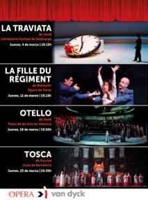 Cines Van Dyck Ópera y Ballet Marzo 2021 Salamanca