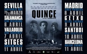 Megarama Quince Salamanca Abril 2021