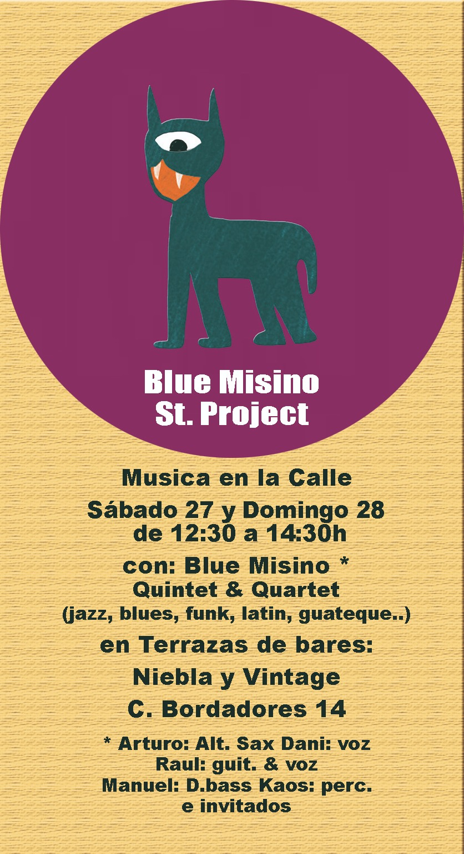 Niebla + Vintage Blue Misino Street Protect Salamanca Marzo 2021