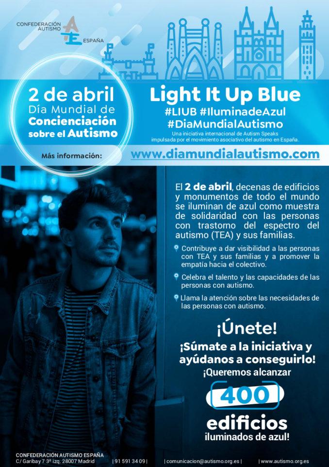 Puerta de Zamora Día Mundial de Concienciación sobre el Autismo Salamanca Abril 2021