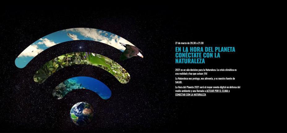 Salamanca Hora del Planeta Marzo 2021