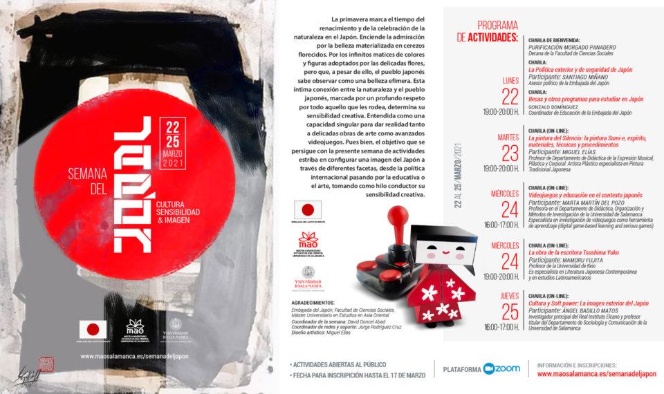Salamanca Semana del Japón Marzo 2021