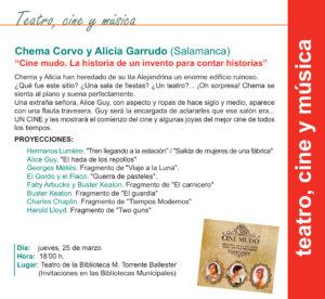 Torrente Ballester Chema Corvo y Alicia Garrudo Salamanca Marzo 2021