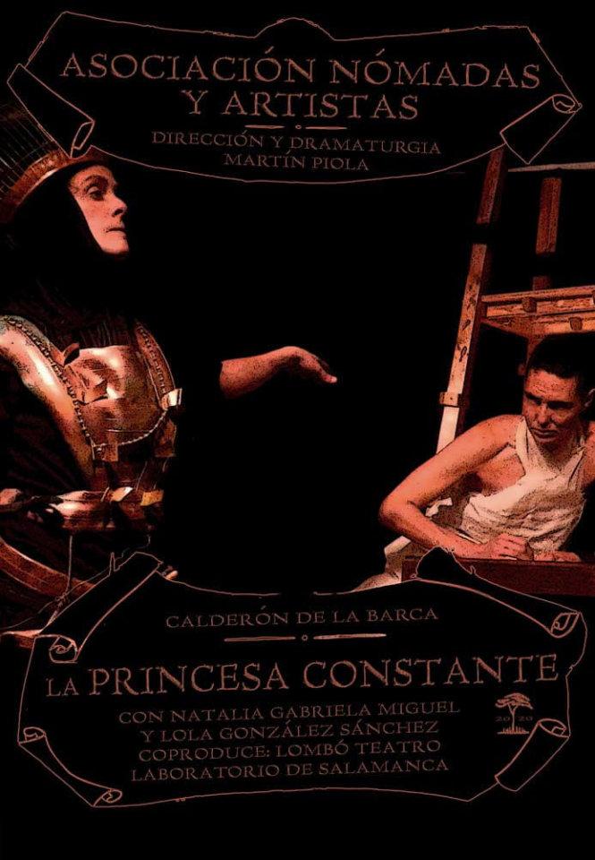 Espacio Almargen La princesa constante Salamanca Abril 2021