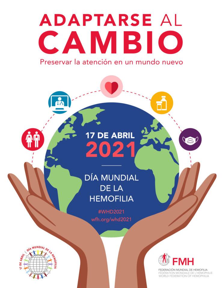 Puerta de Zamora Día Mundial de la Hemofilia Salamanca Abril 2021