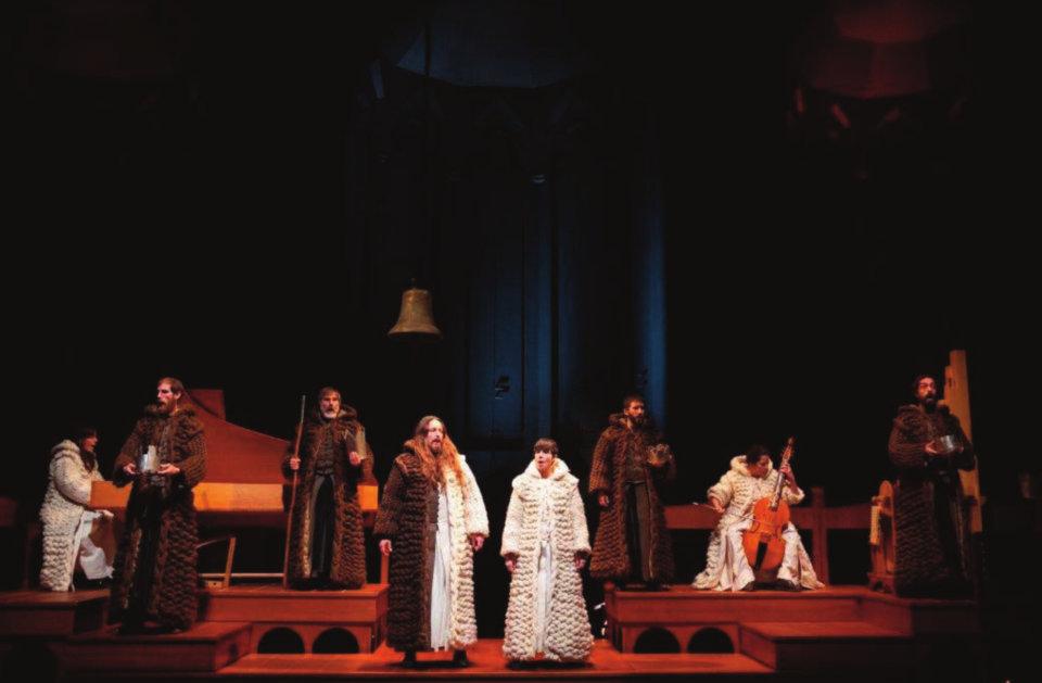 Teatro Liceo NISE. La tragedia de Inés de Castro Salamanca Mayo 2021