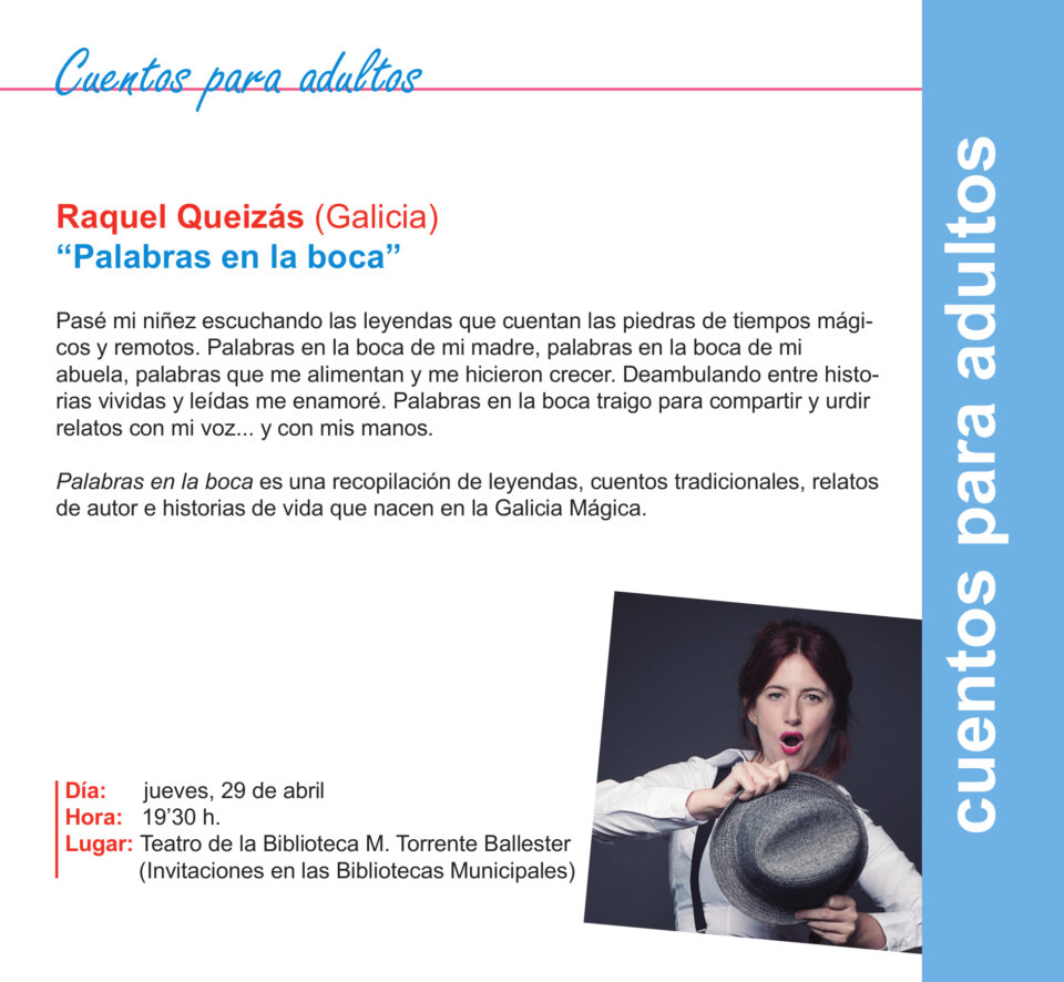 Torrente Ballester Raquel Queizás Salamanca Abril 2021
